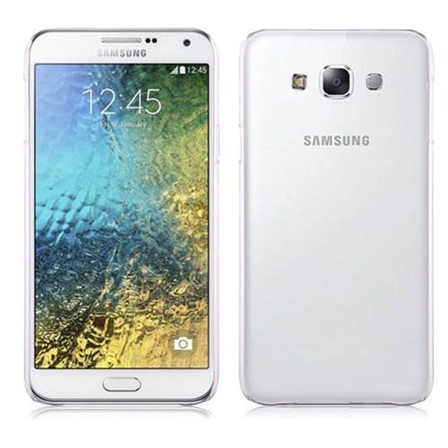 Case 4U Samsung Galaxy E5 Ultra İnce Şeffaf Silikon Kılıf
