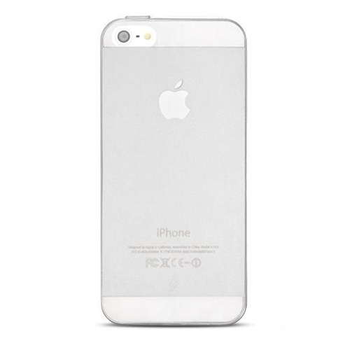 Ttec iPhone 5/5s Elasty SuperSlim Arka Kapak Şeffaf - 2PNS2002SF