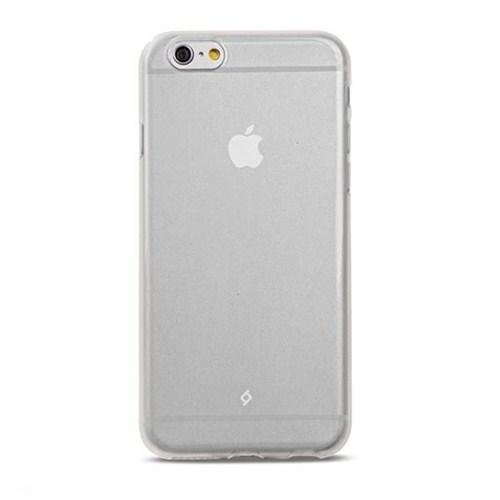 Ttec iPhone 6 Plus Elasty SuperSlim Arka Kapak Şeffaf/Beyaz - 2PNS46SF