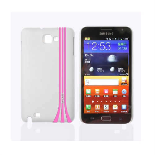 iPearl Samsung Galaxy Note Kılıf Strip Crystal Case