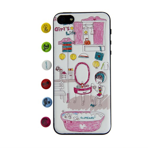 iPearl Apple iPhone 5/5S A Day İn A Girl