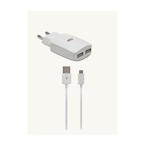 Mbx 3100 mAh Micro USB Beyaz Seyahat Şarj Cihazı