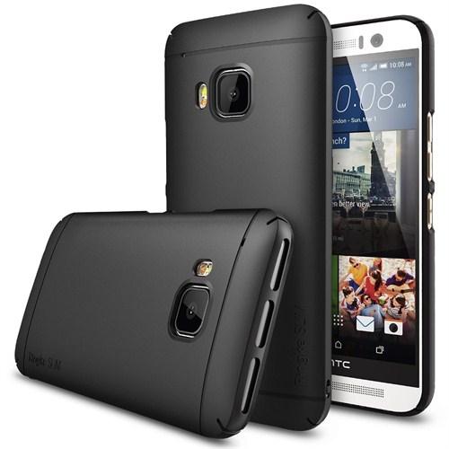 Rearth HTC One M9 Siyah Ringke Slim Kılıf
