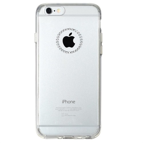 Rearth Apple iPhone 6 Plus Şeffaf Ringke Noble Ring Kılıf