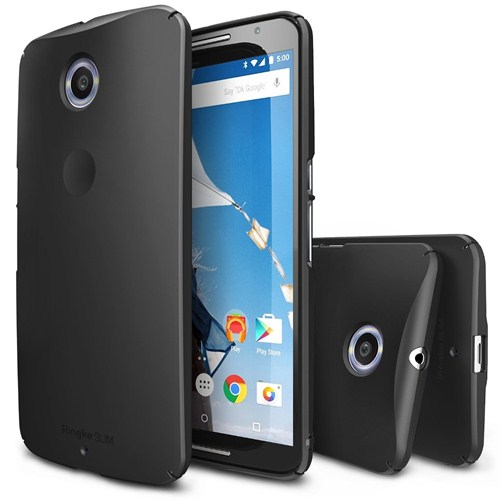 Rearth Nexus 6 Siyah Ringke Slim for Kılıf