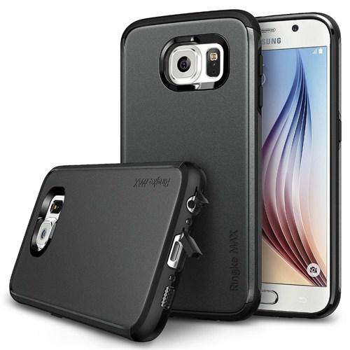 Rearth Samsung Galaxy S6 Siyah Ringke Max for Kılıf