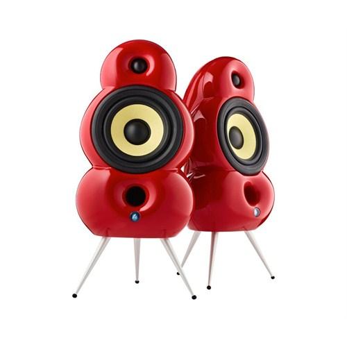 Podspeakers Minipod Bluetooth (2li Set) Kırmızı Hoparlör