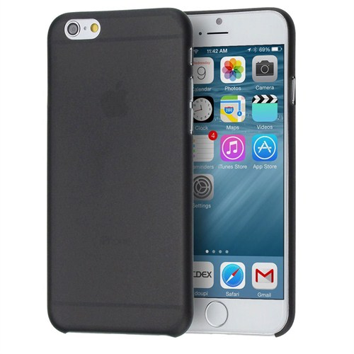 Case 4U Apple iPhone 6 Plus 0.3mm Siyah Kapak