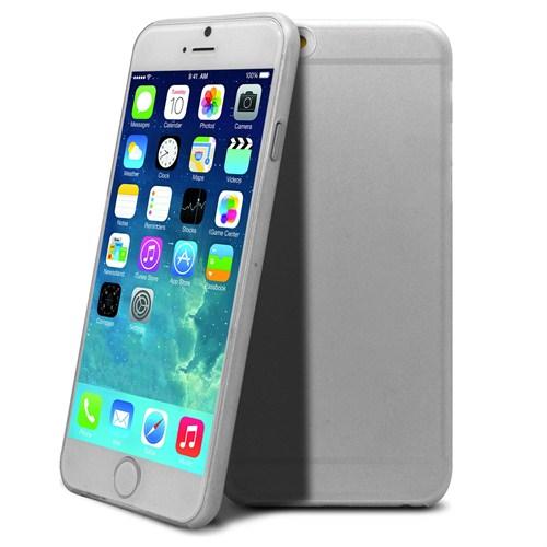 Case 4U Apple iPhone 6 Plus 0.3mm Şeffaf Kapak