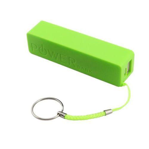 Microsonic Powerbank Taşınabilir Şarj Cihazı Harici Usb Batarya 2600Mah Yeşil