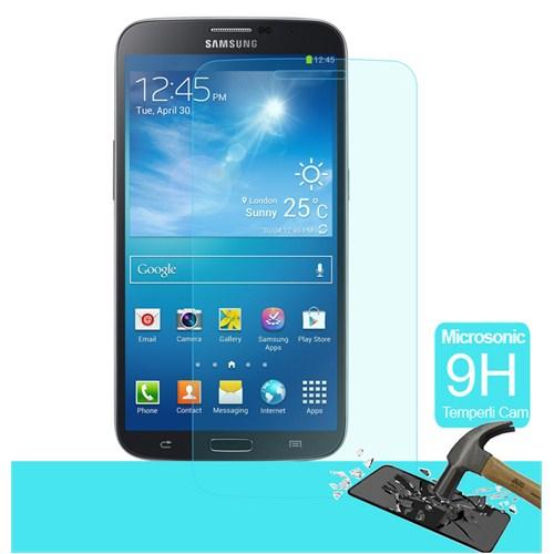 Microsonic Temperli Cam Ekran Koruyucu Samsung Galaxy Mega 6.3 Kırılmaz Film