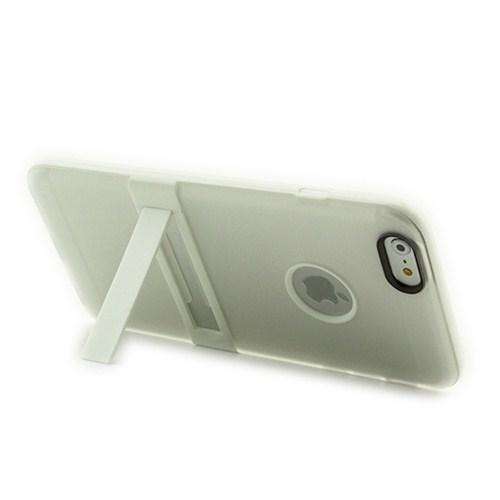 Microsonic Standlı Soft İphone 6 (4.7'') Kılıf Beyaz