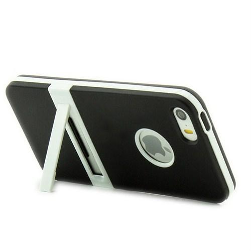 Microsonic Standlı Soft İphone 5S Kılıf Siyah