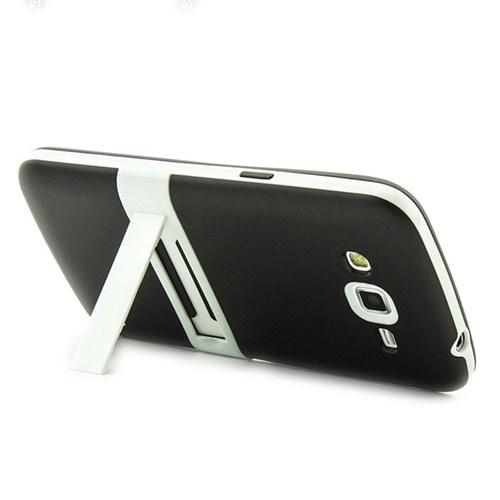 Microsonic Standlı Soft Samsung Galaxy Grand 2 Kılıf Siyah