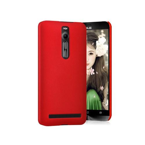 Microsonic Premium Slim Asus Zenfone 2 (5.5'') Kılıf Kırmızı