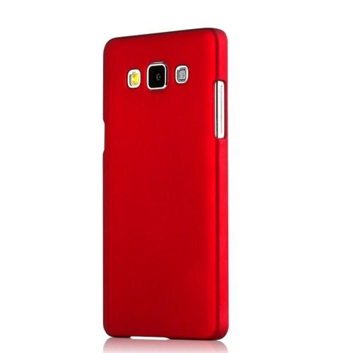 Microsonic Samsung Galaxy E5 Premium Slim Kırmızı Kılıf