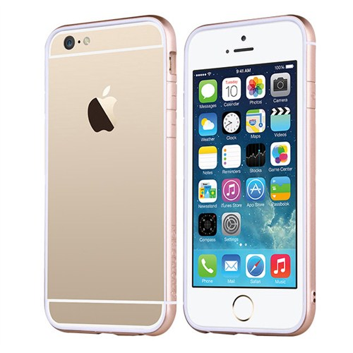 TotuDesign Apple iPhone 6 Plus Kılıf Gold Evoque Series Bumper