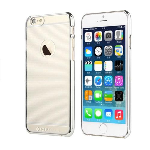TotuDesign Apple iPhone 6 Plus Kılıf Grey Breeze Series