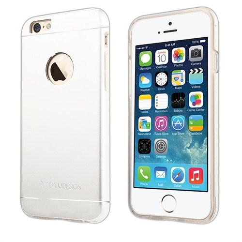 TotuDesign Apple iPhone 6 Plus Kılıf Silver Jaeger Series