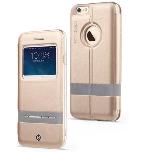 Totu Design Touch Series İphone 6 Plus Kılıf Gold