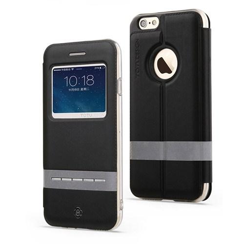 Totu Design Touch Series İphone 6 Plus Kılıf Black