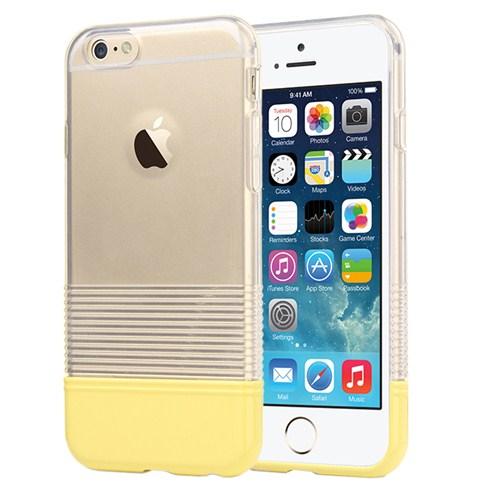 Microsonic Colors Soft İphone 6 Kılıf Sarı