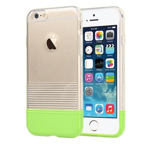 Microsonic Colors Soft İphone 6 Kılıf Yeşil