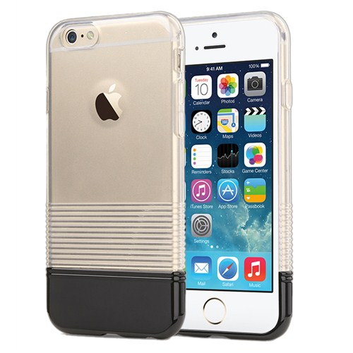 Microsonic Colors Soft İphone 6 Kılıf Siyah