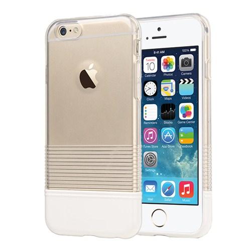 Microsonic Colors Soft İphone 6 Kılıf Beyaz