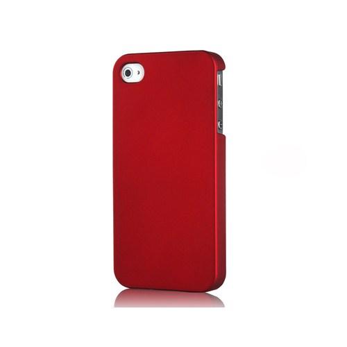 Microsonic Premium Slim İphone 4S Kılıf Kırmızı