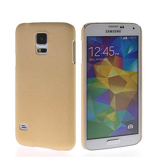 Microsonic Premium Slim Samsung Galaxy S5 Kılıf Altın Sarısı