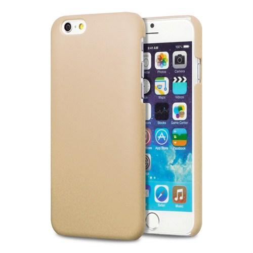 Microsonic Premium Slim İphone 6 Plus (5.5'') Kılıf Altın Sarısı