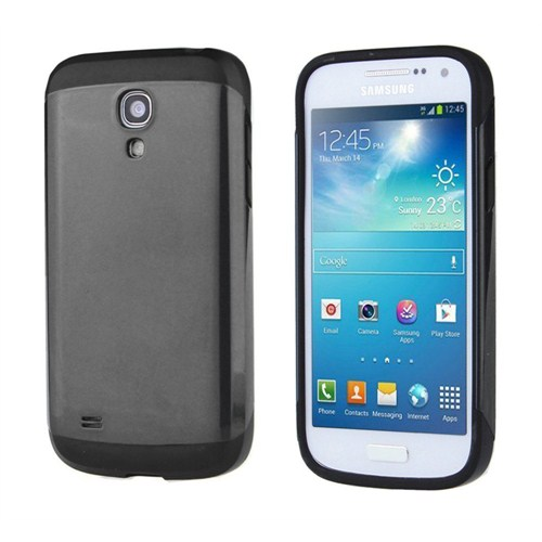 Microsonic Slim Fit Dual Layer Armor Samsung Galaxy S4 Mini Kılıf Siyah