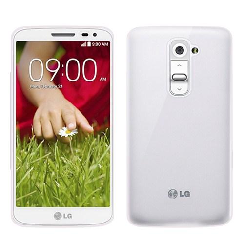 Microsonic Transparent Soft Lg G2 Mini Kılıf Beyaz