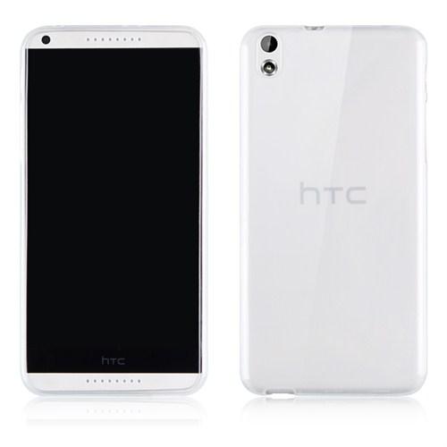 Microsonic Transparent Soft Htc Desire 816 Kılıf Beyaz