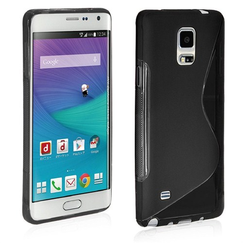 Microsonic S-Line Soft Samsung Galaxy Note Edge Kılıf Siyah
