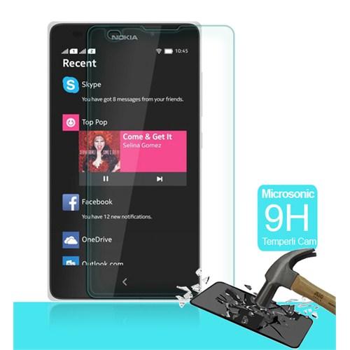 Microsonic Temperli Cam Ekran Koruyucu Nokia Lumia Xl Kırılmaz Film