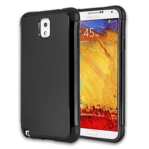 Microsonic Slim Fit Dual Layer Armor Samsung Galaxy Note 3 Kılıf Siyah