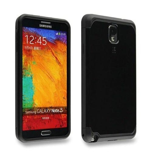 Microsonic Slim Fit Dual Layer Armor Samsung Galaxy Note 2 Kılıf Siyah