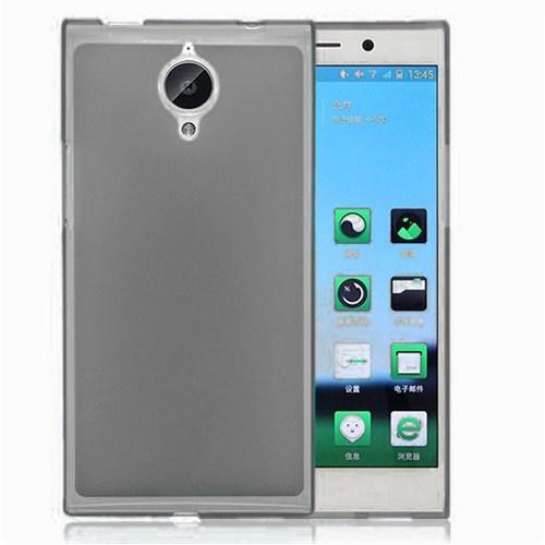 Microsonic Transparent Soft General Mobile Discovery Elite Kılıf Siyah