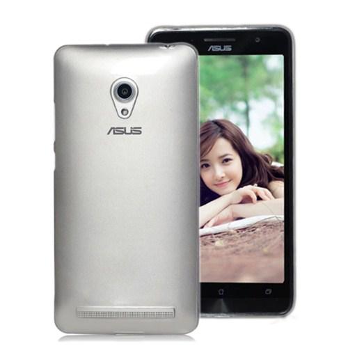 Microsonic Transparent Soft Asus Zenfone 5 Kılıf Beyaz