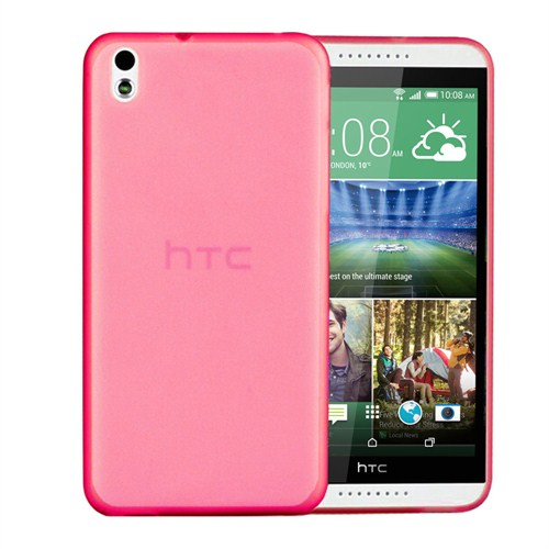 Microsonic Ultra Thin 0.2Mm Htc Desire 816 Kılıf Pembe