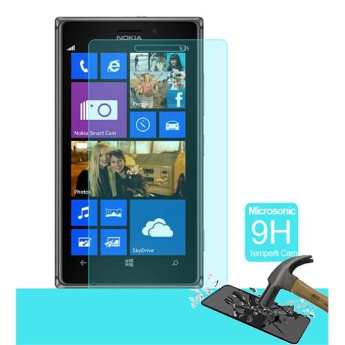 Microsonic Temperli Cam Ekran Koruyucu Nokia Lumia 925 Kırılmaz Film