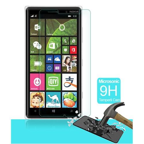 Microsonic Temperli Cam Ekran Koruyucu Nokia Lumia 830 Kırılmaz Film
