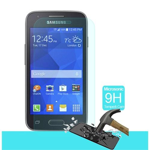 Microsonic Temperli Cam Ekran Koruyucu Samsung Galaxy Ace 4 Kırılmaz Film