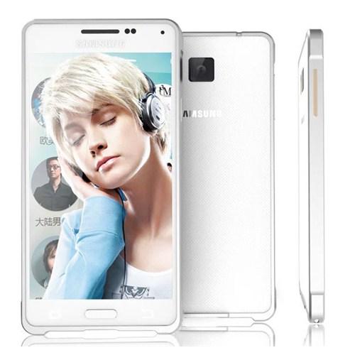Microsonic Samsung Galaxy Alpha Thin Metal Bumper Kılıf Gümüş