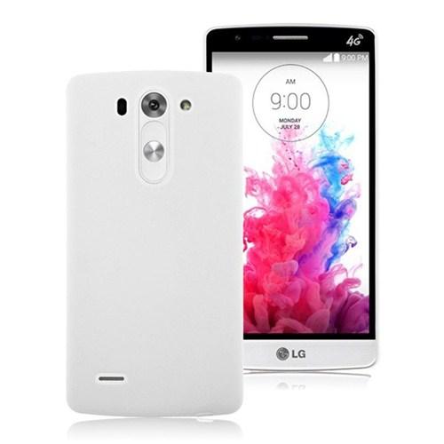 Microsonic Premium Slim Lg G3 S (G3 Mini, G3 Beat, G3 Vigor) Kılıf Beyaz