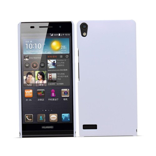 Microsonic Premium Slim Huawei Ascend P6 Kılıf Beyaz