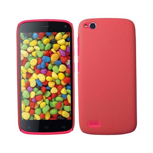 Microsonic Premium Slim General Mobile Discovery Kılıf Kırmızı