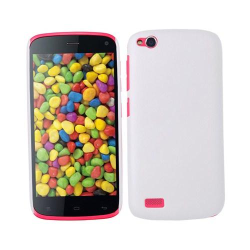 Microsonic Premium Slim General Mobile Discovery Kılıf Beyaz